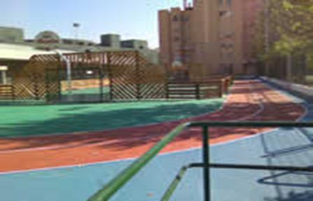 Pistas recreativas Parque de las Infantas